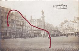 ( 59 ) - Lille Parade Grande Place   Carte Photo Allemande 1° Guerre - Lille