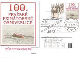 2013  Centenaire De La Première Régate à L'aviron:  Prague - Aviron