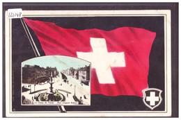 LA CHAUX DE FONDS - DRAPEAU SUISSE - TB - NE Neuchâtel