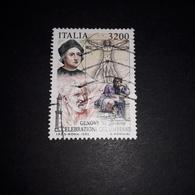 """PT0202 REPUBBLICA ITALIANA GENOVA'92 CELEBRAZIONI COLOMBIANE LIRE 3200 """"O"""" - 1991-00: Used"""