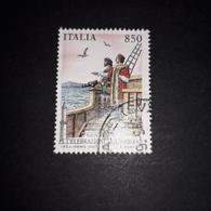 """PT0203 REPUBBLICA ITALIANA GENOVA'92 CELEBRAZIONI COLOMBIANE LIRE 850 """"O"""" - 1991-00: Used"""