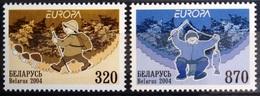 EUROPA        ANNEE 2004        BIELORUSSIE         N° 503/504           NEUF** - 2004