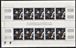 MONACO 1991 - FEUILLE DE 10 TP /  N° 1789 - NEUFS** - Monaco