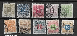 1907 USED Danmark,  Avisporto (newspapers), Watermark Crown - Segnatasse