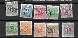 1914 USED Danmark,  Avisporto (newspapers), Watermark Crosses - Segnatasse