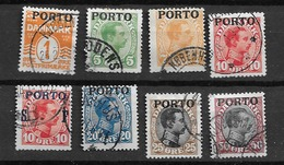 1921 USED Danmark,  Porto - Segnatasse