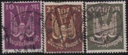 Deutsches Reich     .    Michel   .   235/237  Signiert     .      O      .       Gebraucht  .   /   .  Cancelled - Allemagne