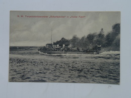 K.U.K. Kuk 1494 Kriegsmarine Marine  Pola S.M.S. SMS  Schiff 1912 Torpedoboot Scharfshutze Ed Costalunga - Guerra