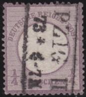 Deutsches Reich    .    Michel   .    16  (2 Scans)     .      O      .       Gebraucht  .   /   .  Cancelled - Allemagne