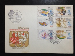 Portugal Madeira,  Unirculated FDC, TOURISM, 1980 - 1910-... République