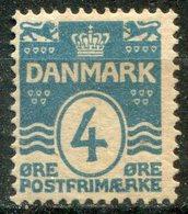 DANEMARK -  Y&T  N° 51 *...perf 12,5 - 1905-12 (Frederik VIII)