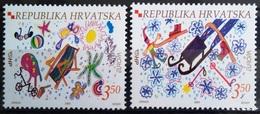 EUROPA        ANNEE 2004        CROATIE         N° 641/642           NEUF** - 2004