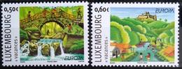 EUROPA        ANNEE 2004        LUXEMBOURG         N° 1590/1591           NEUF** - 2004