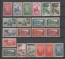 Maroc, Lot De Timbres Gravés De 1939-1942, Neufs Sans Charnière Entre Les Numéros 163 Et 199 (le 163 Est *) - Maroc (1891-1956)