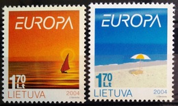 EUROPA        ANNEE 2004        LITUANIE         N° 736/737           NEUF** - 2004