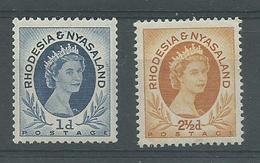 200035176  RODESIA Y NYASALAND  YVERT  Nº  2/18  **/MNH - Rhodesien & Nyasaland (1954-1963)