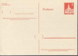 BERLIN P 42, Ungebraucht, Orts-Postkarte 1959 - [5] Berlin