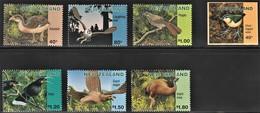 1996 New Zealand Extinct Birds Set, Booklet, Souvenir Sheet (** / MNH / UMM, Self Adhesive) - Unclassified