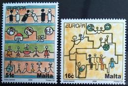EUROPA        ANNEE 2006        MALTE            N° 1415/1416          NEUF** - 2006