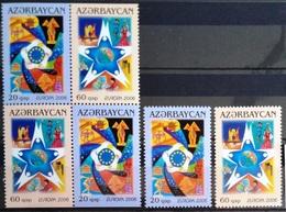 EUROPA        ANNEE 2006        AZERBADJAN            N° 538/539 + 538a/539a          NEUF** - 2006