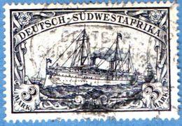 Deutsch Ämter Sudwest-Afrika 3 M 1901, Ship Cancel Deutsche Schiffpost 2005.0339 German Offices, - Colony: German South West Africa