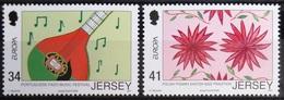 EUROPA        ANNEE 2006        JERSEY            N° 1269/1270          NEUF** - 2006