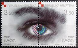 EUROPA        ANNEE 2006        CROATIE            N° 727/728          NEUF** - 2006