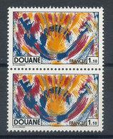 1912** Douane (x2) - France