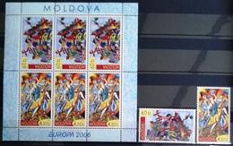 EUROPA        ANNEE 2006        MOLDAVIE            N° 474/475 + C 474          NEUF** - 2006