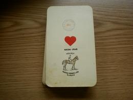 Old Playing Cards 35 Pieces Tarot??? Budapest Piatnik Nandor Es Fia Magyar Kiralyi Kartyabelyeg  60 F Old - Cartes à Jouer Classiques