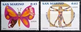 EUROPA        ANNEE 2006        SAINT MARIN            N° 2054/2055          NEUF** - 2006
