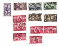 LOTTO FRANCOBOLLI REPUBBLICA - REGNO - 1946-60: Gebraucht