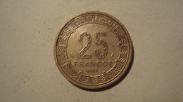 MONNAIE GUINEE EQUATORIALE 25 FRANCOS 1985 - Aequatorial-Guinea