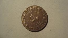 MONNAIE ALGERIE 50 CENTIMES 1964 / 1383 ( Drapeaux ) - Argelia
