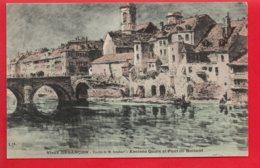 Vieux BESANCON - Etude De M. ISEMBART - Anciens Quais Et Pont De Battant - Besancon