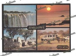 ZIMBABWE - United Touring Company Harare - Lion Leone Rino Rinoceronte - Musica Music - Storia Postale - Zimbabwe