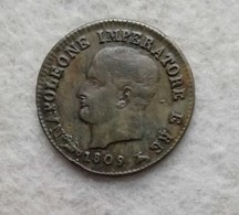Napoleone I Centesimo 1809 V - Napoleonic
