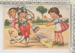VESPA LAMBRETTA BAMBINI Oca Vg  1954 - Andere Illustrators