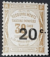 Timbre Taxe N° 49  Neuf ** Gomme D'Origine  TTB - Postage Due