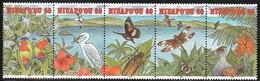 1993 Niuafo'ou Wildlife: Birds, Butterflies, Beetle, Dragonfly Set (** / MNH / UMM) - Birds