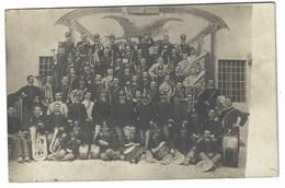 6196 - MUSICA MUSICISTI BANDA MILITARE 1920 CIRCA - Musica E Musicisti