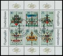 DDR BLOCK KLEINBOGEN Nr 3289-3294 KLEINBG SB48602 - Blocks & Kleinbögen