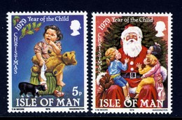GB ISLE OF MAN IOM - 1979 CHRISTMAS YEAR OF THE CHILD FINE MNH ** SG 163-164 - Isle Of Man