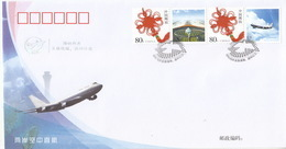 China 2008 PFN.TW-2 Cross-Straits Direct Links In Transportation And Post Commemorative Covers(Hologram) - Ologrammi