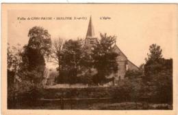 51zz 635 CPA - VALLEE DE CHEVREUSE - SENLISSE - L'EGLISE - Chevreuse