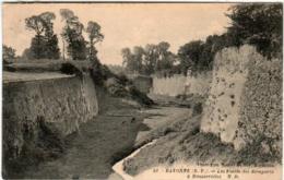 51di 546 CPA - BAYONNE - LE FOSSES DES REMPARTS - Bayonne