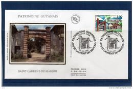 FDC  - 3048 - Patrimoine Guyanais - 1990-1999