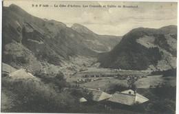 CPA 74 La Cote D'Arbroz. Les Couards Et Vallee De Montriond Vue Rare 1918 - Otros Municipios