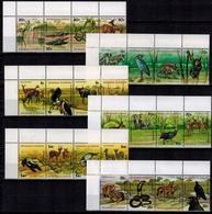 MDA-BK2-139 MDB MDS MINT ¤ BURUNDI 1977 24w In Serie ¤ ENDANGERED SPECIES - ANIMALS OF THE WORLD - FAUNA DE AFRICA - Game