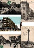 LOT 2500 CPA ET CPSM(petit Format) DE PARIS (1900/1960). - Cartes Postales